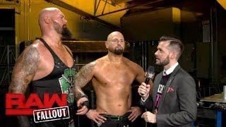 "Luke Gallows & Karl Anderson bring out the ""geekbusters"" & ""dorksmashers"": Raw Fallout, Oct. 2, 2017"