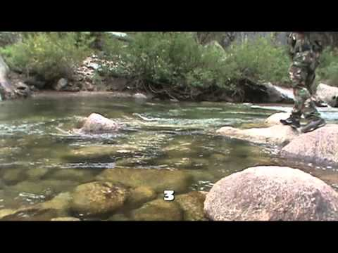 Stanislaus River Trout Fishing Sept 2011