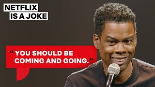 Chris Rock's Two Rules for Being in a Relationship | Netflix Is A Joke