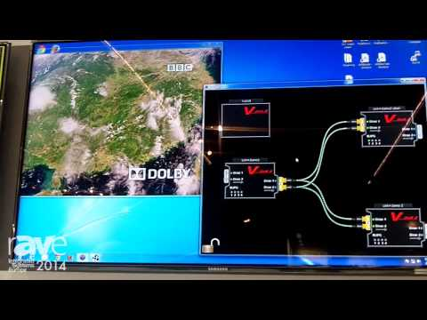 ISE 2014: LAWO Showcases Newest V-Link 4 Video Processor