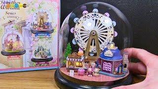 DIY Miniature Ferris wheel ミニチュア観覧車作り