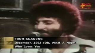 Watch Four Seasons December 1963 Oh What A Night video