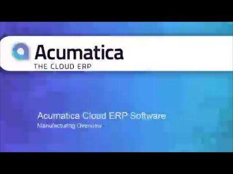 Discreet Manufacturing ERP Software