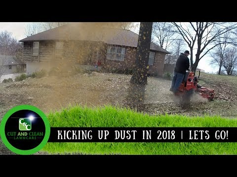 Lawn Care First Day Mowing in 2018 | New Properties and Clean Ups!