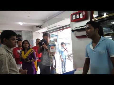 Mobile Court in Dhamondi Fined and arrested for tobacco control law violation