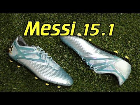 Adidas Messi 15.1 Matte Ice Metallic - Review + On Feet