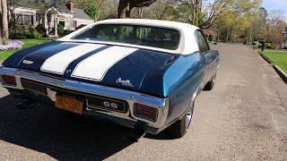 1970 Chevrolet Chevelle SS For Sale~Orig 396~Auto~A/C~PS~PB~Cowl Induction~Canadian Built!!
