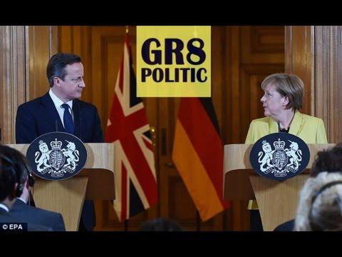 Angela Merkel and David Cameron: France Terrorist Attack