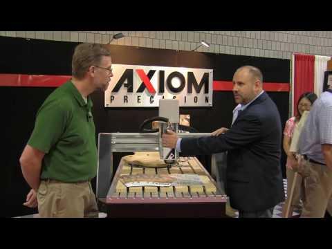 Axiom Pro Series CNC Machines - IWF 2016