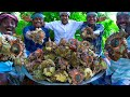 CONCH Cooking & Eating | Sangu Kari | How to Cook Conch | Rare Seafood Item Cooking In Village