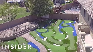 Turn Your Backyard Into A Mini Golf Course