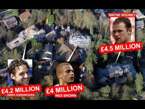 FOOTBALL STARS HOUSES