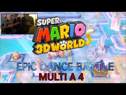 Super Mario 3D World – Couronne et Panda roux!