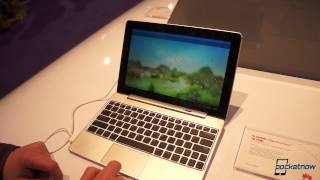 Huawei MediaPad 10 FHD With Keyboard Dock Hands-On