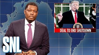 Weekend Update: Trump Announces Deal to End Shutdown - SNL