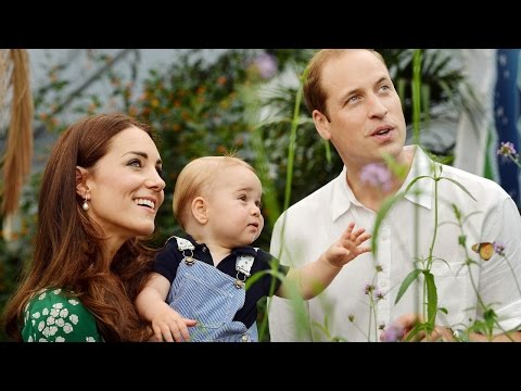 The UK's Prince George Celebrates First Birthday