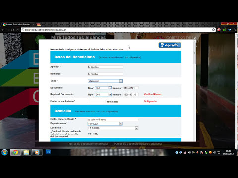 Boleto educativo gratuito - tutorial formulario | HD by kEiL & leito0! |
