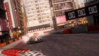 DiRT 2 - Shibuya B on NVIDIA GeForce G100