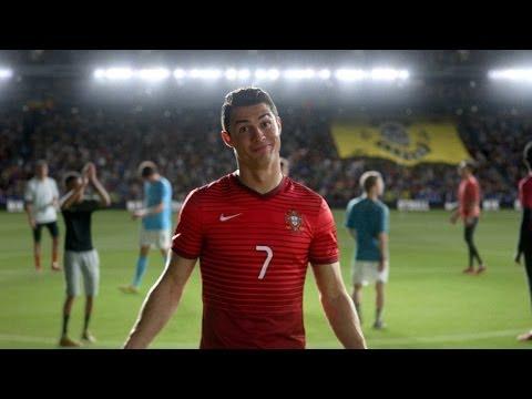 Nike Football: Winner Stays. ft. Ronaldo, Neymar Jr.,  Ibrahimović, Iniesta & more | Русская озвучка