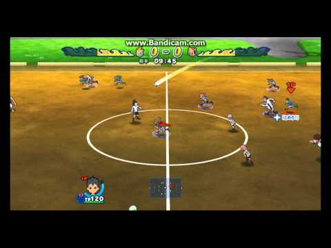 Inazuma Eleven Strikers Wii Gameplay! Hd video