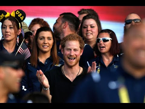 Prince Harry's Invictus Orlando highlights