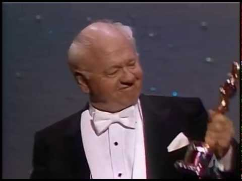 Mickey Rooney Receives an Honorary Award: 1983 Oscars