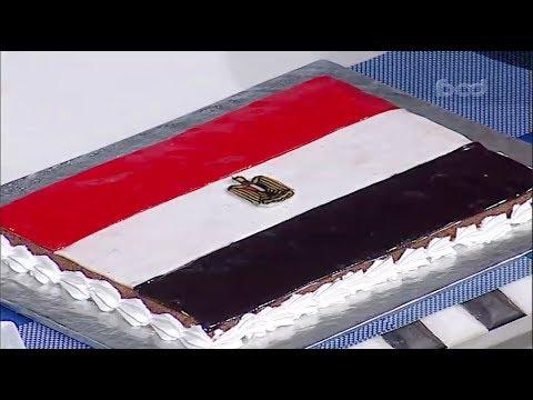 بسبوسه علم مصر | الشيف #قدري #حلواني_العرب #فوود