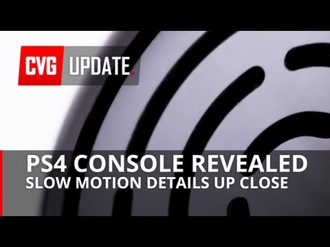 PS4 console revealed! ALL the details in slow-motion