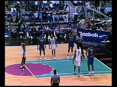 David Robinson's (34pts/10rebs/10asts/10blks) Quadruple-Double (1994)