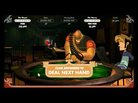 Poker Night at the Inventory: Playing for the Iron Curtain (TF2 Heavy Unlockable)