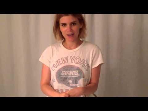 Kate Mara Accepts The ALS Ice Bucket Challenge