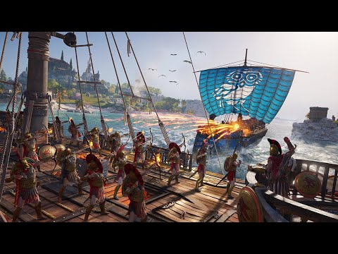 Assassin's Creed Odyssey: 11 Minutes of Naval Combat - E3 2018