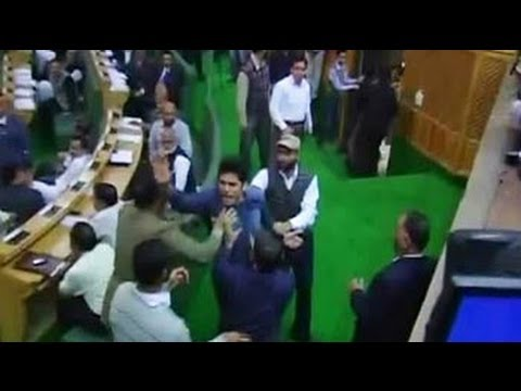 Drama in J&K assembly: Man jumps into well of the house