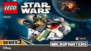 LEGO Star Wars 75127 The Ghost Microfighter (Instruction Booklet)