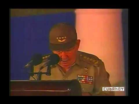 Palabras de Raúl Castro, en el Acto Nacional por los 55 Años de la Revolución