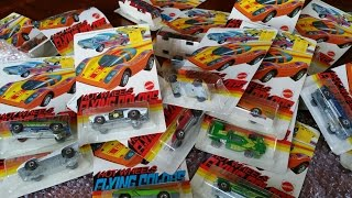 Hot Wheels Redline 1974 Flying Colors Blister Pack Collection