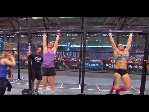 CrossFit - Katrn Tanja Davsdttir Takes Event 6 in Europe