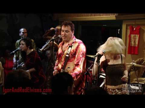 The Red Elvises - A Kegga Beer and Potato Chips