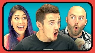 YouTubers React to Don't Hug Me I'm Scared 2 - TIME