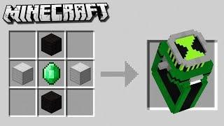 Crafting a DIAMOND BEN 10 OMNITRIX in Minecraft!
