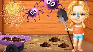 Fun Sweet Baby Girl Cleanup Games - Play House Makeover, BBQ, Pony Animal Care Kids Games