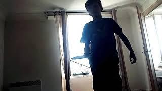 Je montre mon talan ping-pong