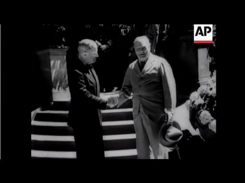 Berlin 1945 including Churchill, Stalin and Truman at Potsdam Conference