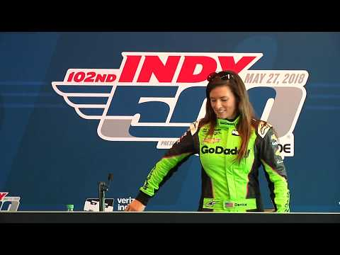 Press Conference | Danica Patrick Completes Indy 500 Refresher Test