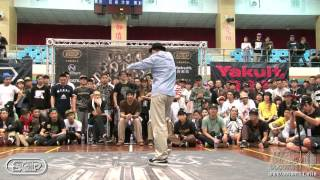 Popping Best16-5 Boogie Tie vs Jay Gee | 20140302 OBS Vol.8