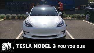 Tesla Model 3 revue de détail Auto-Moto.com