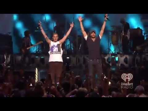 Enrique Iglesias Sammy Adams - Finally Found You Live Iheartradio 2012 video