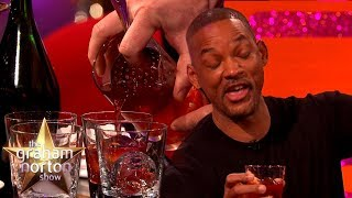 Will Smith Tries Jamie Oliver's Christmas Negroni | The Graham Norton Show