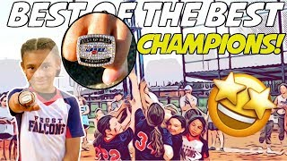 WE DOUBLE DIPPED TO WIN IT! 🍨🍨 (USSSA Best of the Best Tournament Pt. 2) | Travel Softball Vlog