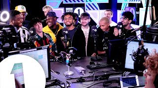 BROCKHAMPTON and BFF Jaden Smith chat with Annie Mac.